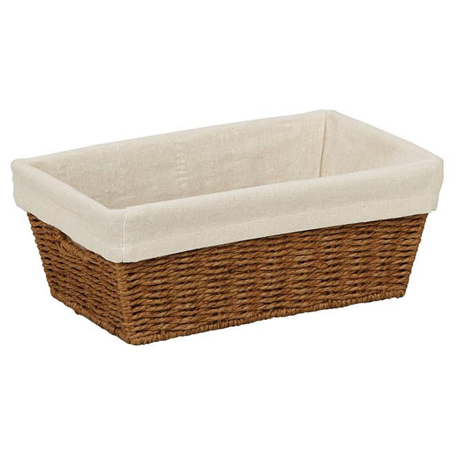 honey can do petit panier de rangement en corde de. Black Bedroom Furniture Sets. Home Design Ideas