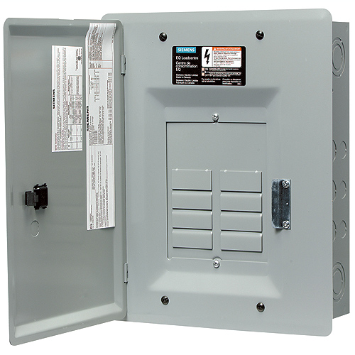 "Panel - 100 A - 8/16 Circuit ""Siemens"" Electric Panel"