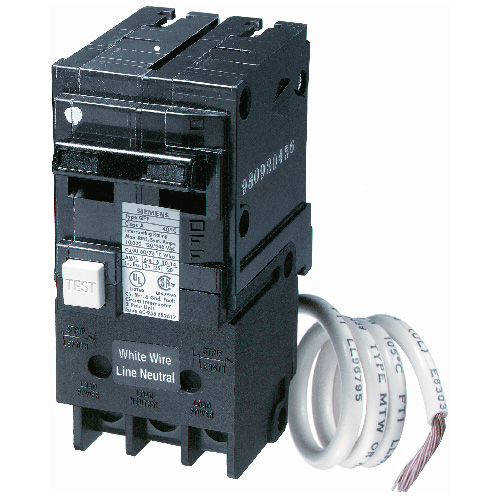 siemens 120 240 vac 50 a circuit breaker 2 poles plug in. Black Bedroom Furniture Sets. Home Design Ideas