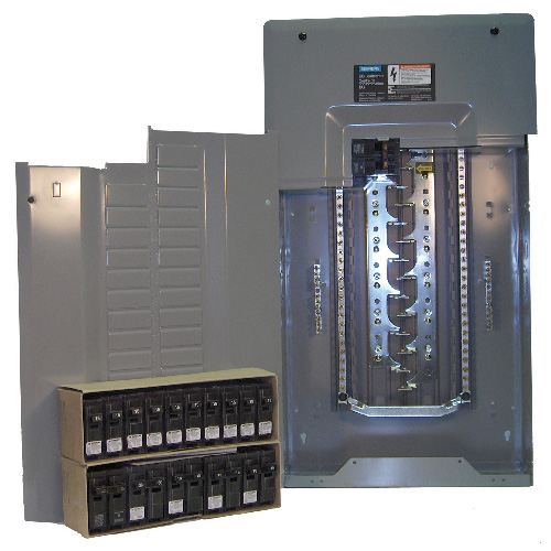 120 - 240 V 100 A Main Breaker Load Center Aluminum / Copper