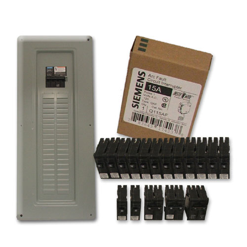Panneau 40/80 circuits avec disjoncteur