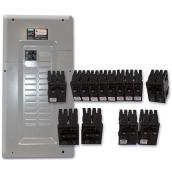 Main Panel + Breaker X-Press Pack  -  24/48 Circuits - 100 A