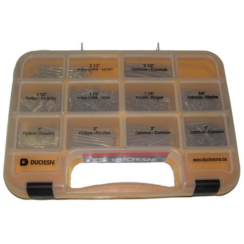 Assorted Nail Set - 750/Box