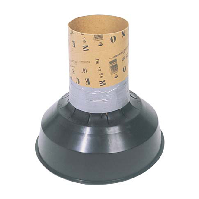 Redibase Footing Concrete Form Tube - Round - 8-in to 12-in diameter - Plastic