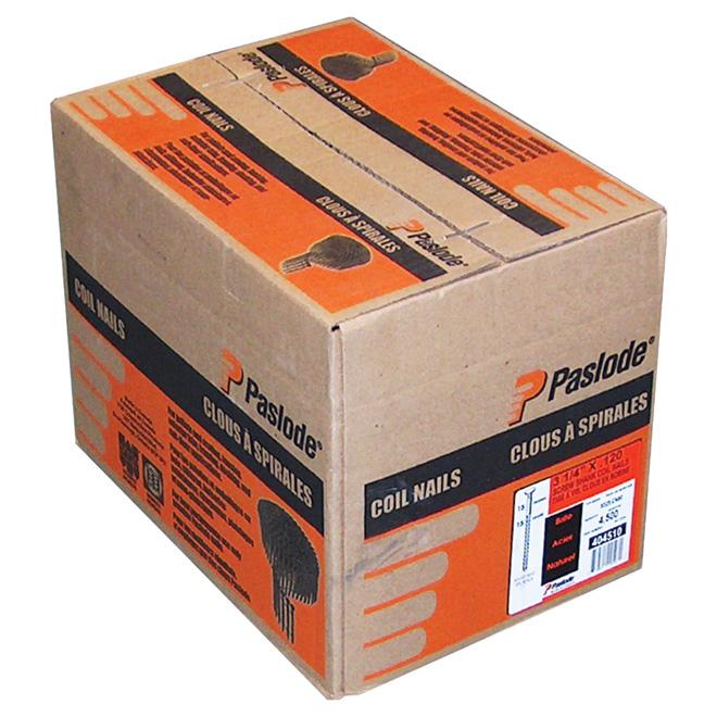 """Framing Nails - 15° Coil - 3 1/4"""" - 4500/Box"""