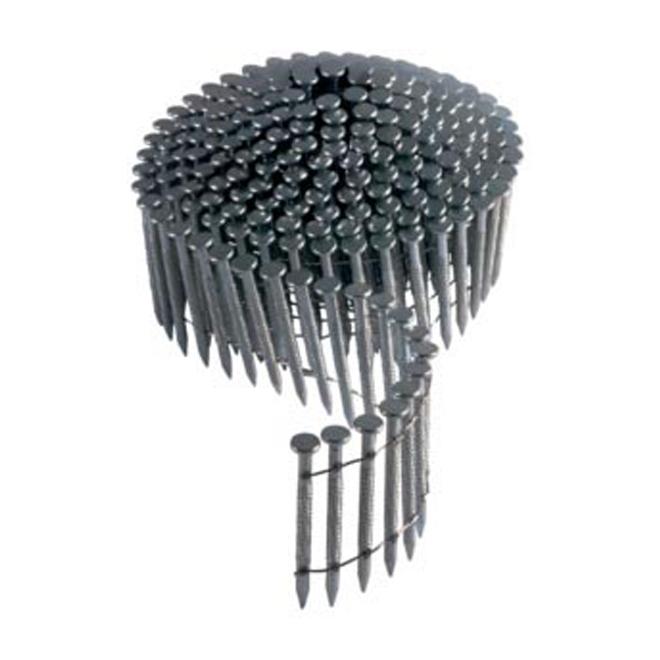 """Framing Nails - 15° Coil - 2"""" - 4500/Box"""