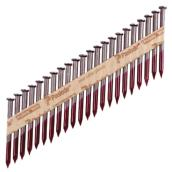 "Metal Connector Nails - Strip - 2 1/2"" - 2500/Box"