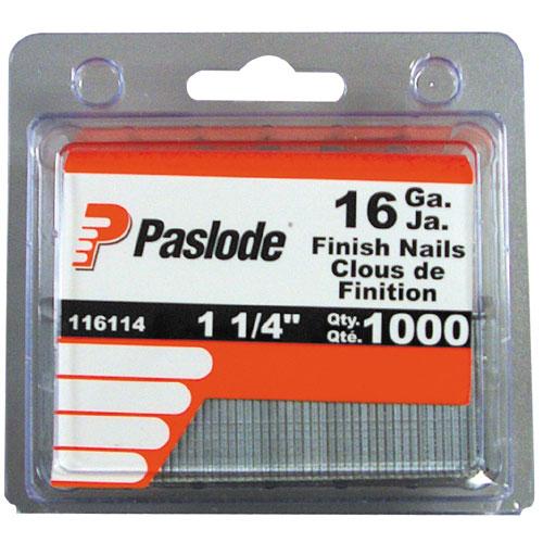 """Finishing Nails - Strip - 16GA - 1 1/4"""" - 1000/Box"""