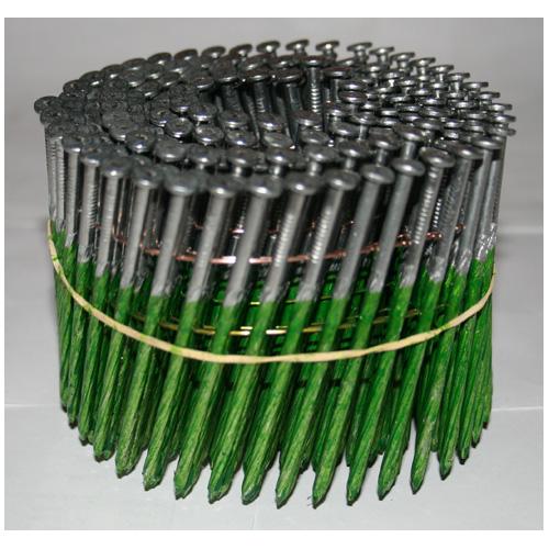 "Framing Nails - 15° Coil - Galvanized - 3 1/4"" - 2500/Box"
