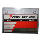 "Galvanized Staples - 18GA - 3/4"" - 1000 Pack"