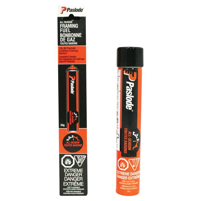 Cartouche de gaz Quicklode(MC) orange