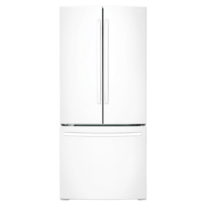 "French Door Refrigerator - 30"" - 21.6 cu. ft. - White"