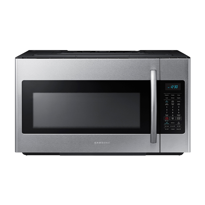 Samsung Over The Range Microwave 1 8 Cu Ft Me18h704sfs