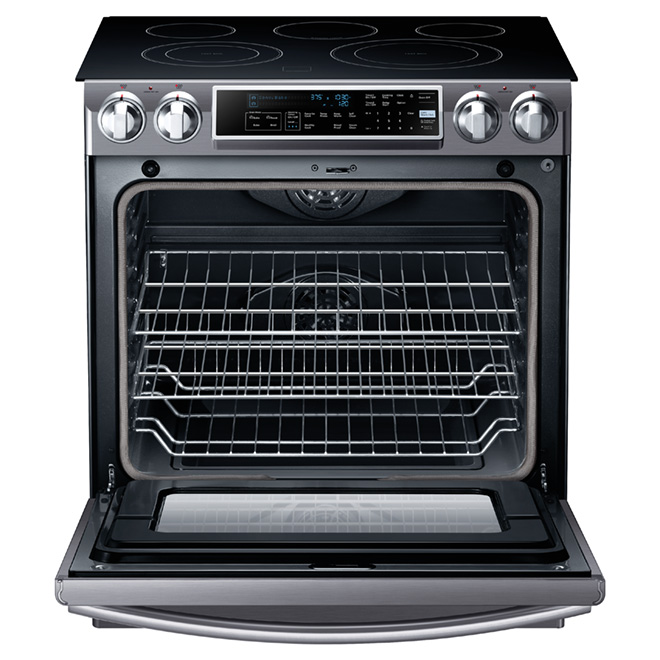 Slide-In Electric Convection Range - 5.8 cu. ft.