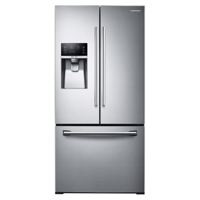 "French Door Refrigerator - 33"" - 25.5 cu. ft. - Steel"