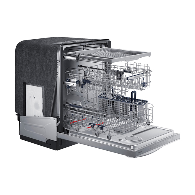 """24"""" Built-in Dishwasher with StormWash(TM) - Stainless Steel"""