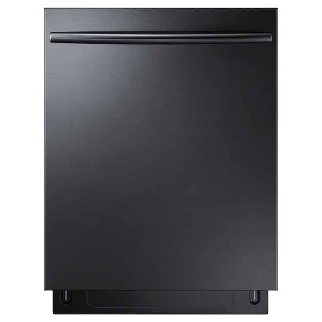 "24"" Built-in Dishwasher with StormWash(TM) - Black Steel"