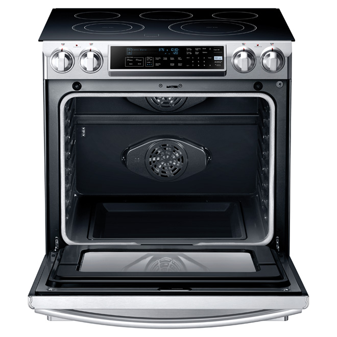 Slide-in Electric Range - 5.8 c. ft. - Stainless Steel