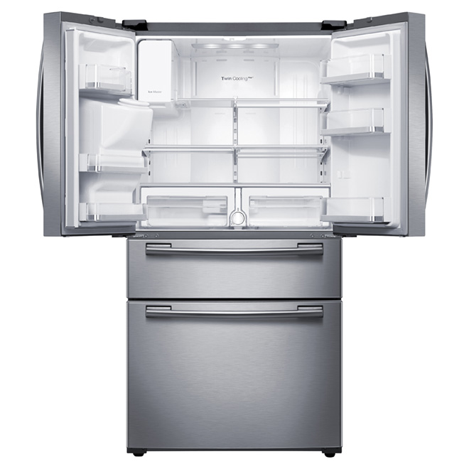 """French-Door Refrigerator -33"""" -24.7 cu. ft. -Stainless Steel"""