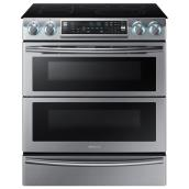 Slide-in Electric Range - 5.8 cu. ft. - Stainless Steel