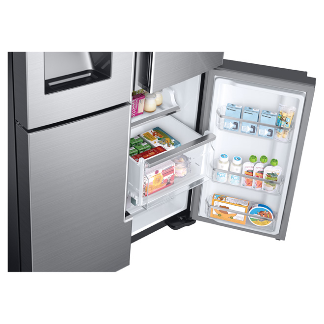 "French-Door Refrigerator 36"" - 28 cu. ft. - Stainless Steel"