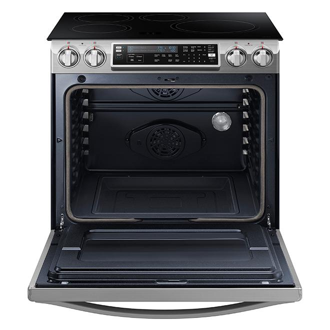 Cuisinière encastrable à induction, 5,8 pi³, acier inoxydable