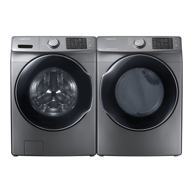 Front-Load Washer - 5.2 cu. ft. - Platinum