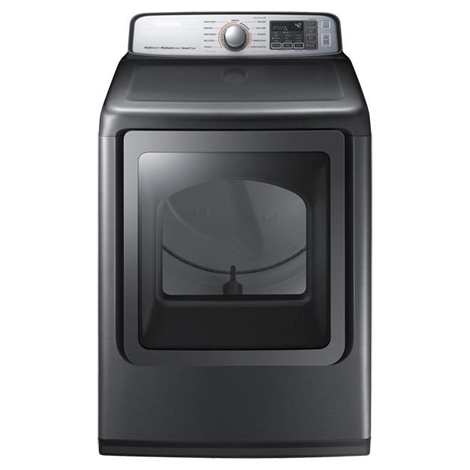 Electric Dryer - 7.4 cu.ft - Platinum
