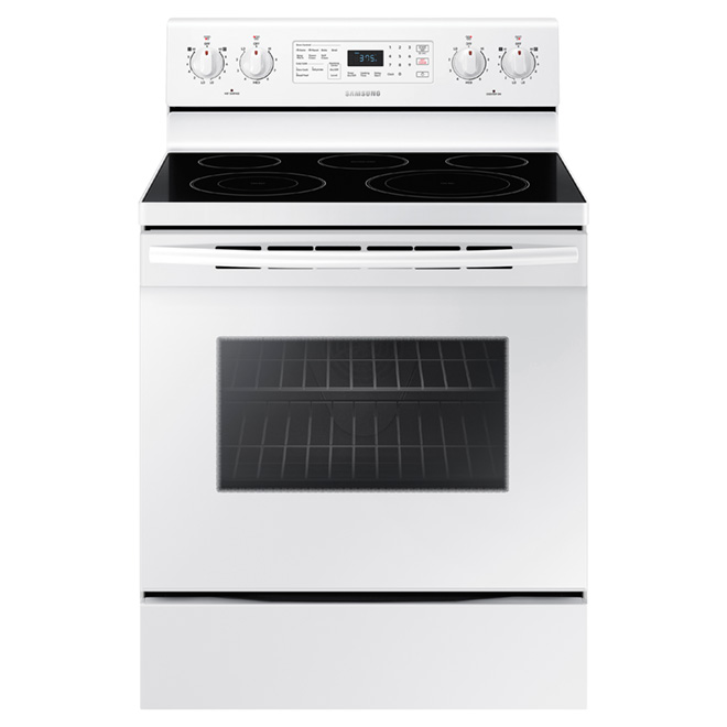 Self-Cleaning Electric Range - 5.9 cu. ft. - White