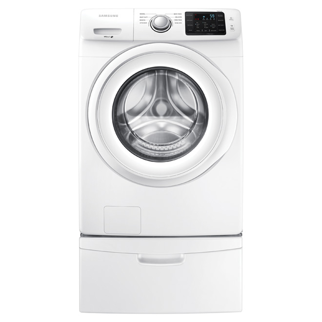 Front Load Washer - 5.2 cu. ft. - White