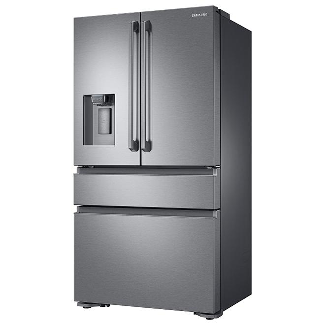 Réfrigérateur avec tiroir FlexZone(MC), 23 pi³, inox