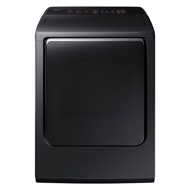 Electric Dryer with Multi-Steam(TM) - 7.4 cu. ft. - Black Steel