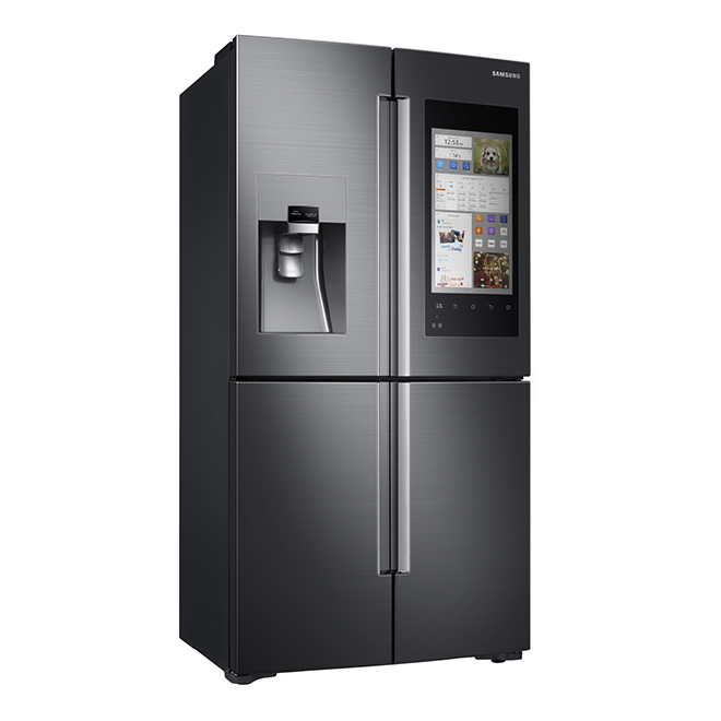 Counter-Depth Refrigerator with Family Hub - 22 cu. ft.