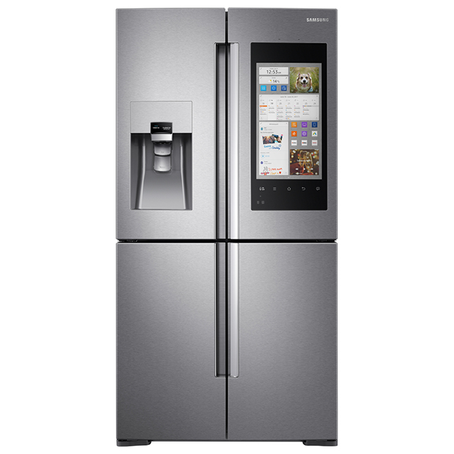 Counter Depth Refrigerator With Family Hub 22 Cu Ft Rona