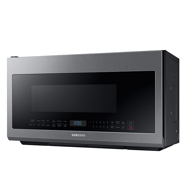 Fours à micro-ondes à hotte intégrée, 2,1 pi³, inox