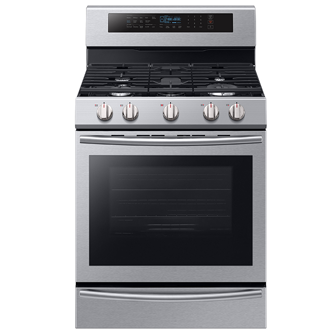 Freestanding Gas Convection Range - 5.8 cu.ft. - Stainless Steel