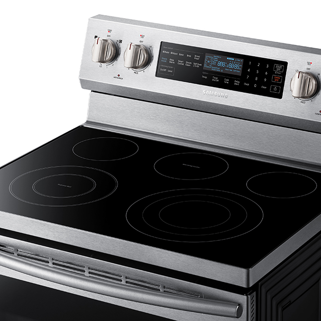 Free-Standing Electric Convection Range - 5.9 cu. ft. - SS