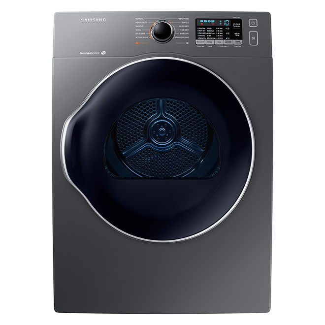 Electric dryer with Smart Care - 4 cu. ft., grey