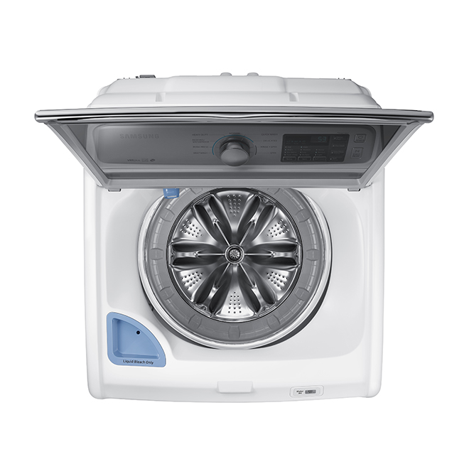 "Top-Load Washer with Water Jet - 27"" - 5.2 cu.ft. - White"