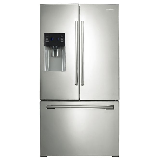 """French Door Refrigerator - 36"""" - 24.6 cu. ft. - Stainless Steel"""