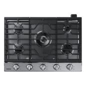 "Gas Cooktop - 56,000 BTU - 30"" - Stainless Steel"