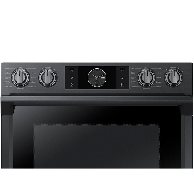 Double Wall Oven with Flex Duo(TM) - 10.2 cu. ft. - Black SS