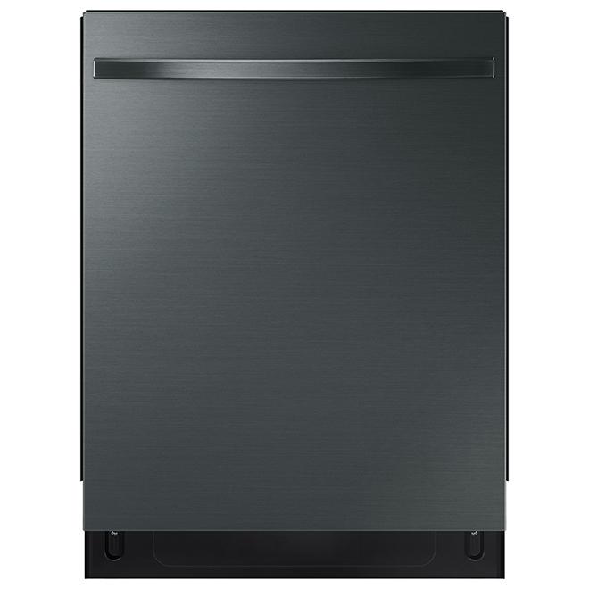 "Samsung Dishwasher with StormWash(TM) - 24"" - 48 dBA - Black SS"