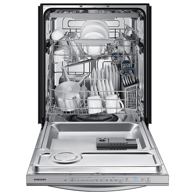 Samsung Dishwasher with StormWash - 48 dB - Stainless Steel