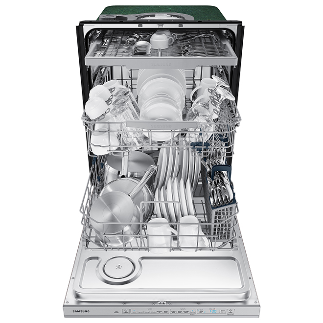 "Samsung Dishwasher with StormWash(TM) - 24"" - 48 dBA - SS"