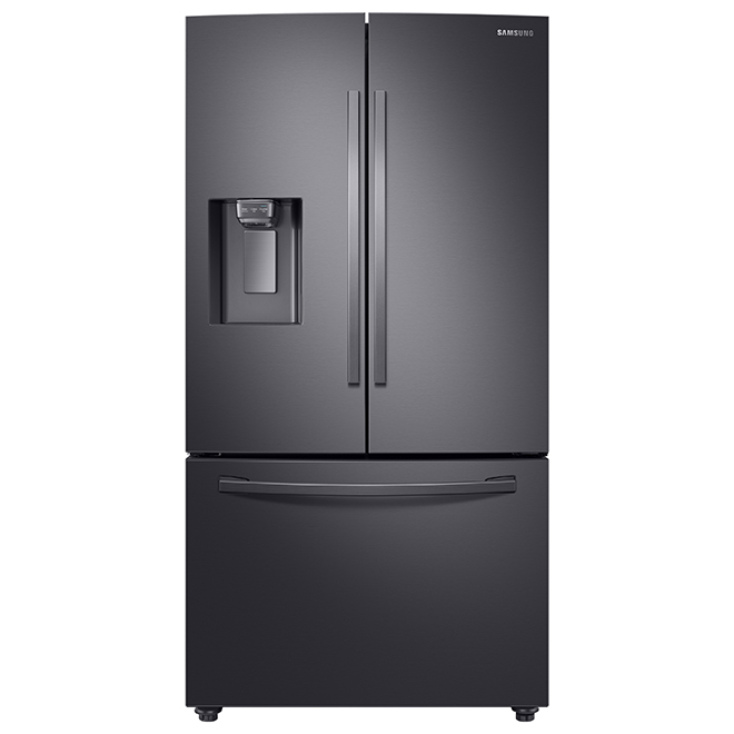 Refrigerator with Wi-Fi - 28.5 cu. ft. - Black Stainless Steel