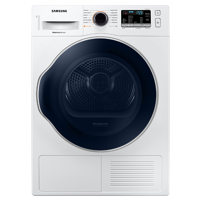 Electric Heat Dryer - Compact 4 cu.ft. - White