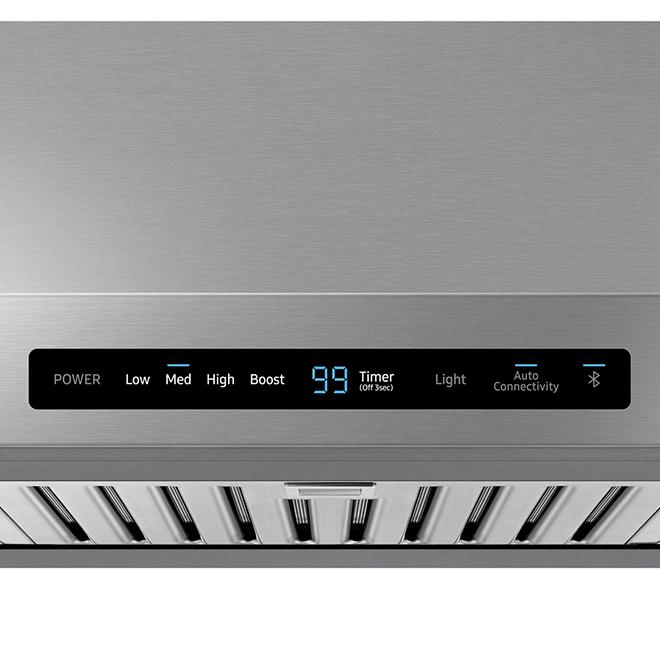 "Samsung 36"" Undercabinet Range Hood - Wi-Fi - 600 CFM - SS"