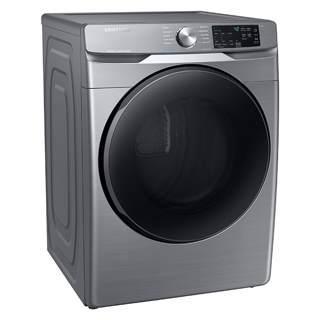 Electric Dryer with Steam Sanitize 7.5 cu.ft. - Platinum