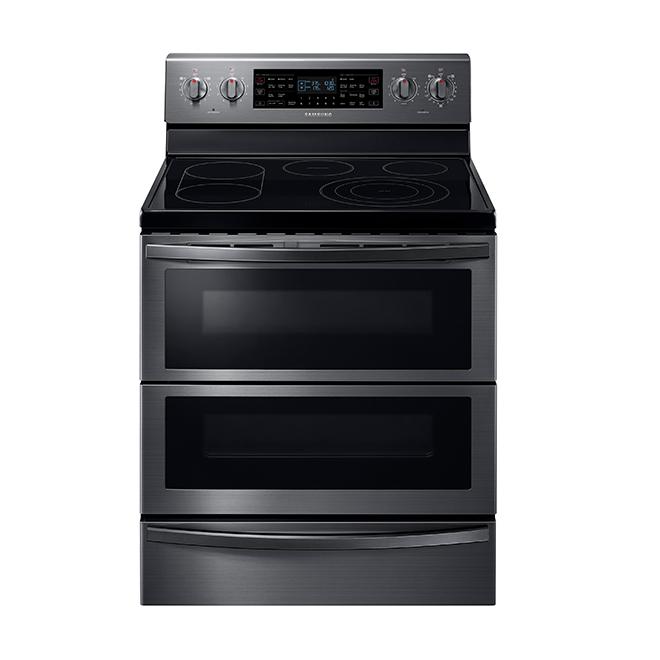 Cuisinière autonettoyante, four 3 en 1, 5,9 pi³, inox noir
